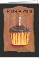 Birthday Cupcake (Make A Wish!) card