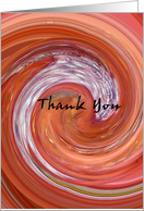 Thank You - Blank card