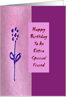 Happy Birthday - Special Friend card