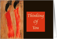Thinking Of You - Ethnic card