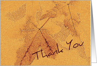 Thank You - For Volunteer card