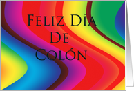 Feliz D�a De Col�n-Happy Columbus Day card