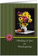 Thanksgiving Thinking of You Card