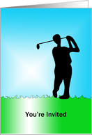 Golf Invitation card