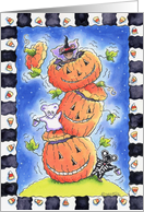 Halloween Party Invitations card