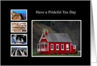 Have a prideful tax day card
