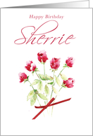 Sherrie Birthday card