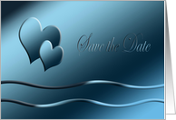 Blue Hearts, Save the Date card