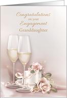 Engagement Congratulations to Granddaughter card