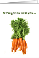 Miss You Group Carrots card