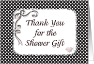 Thank You Shower Gift card