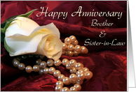 Anniversary Brother Sister-in-Law card