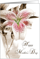 Mother's Day Lily card