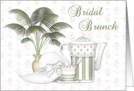 Bridal Brunch Invitation card
