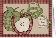 Rosh Hashanah Apples card
