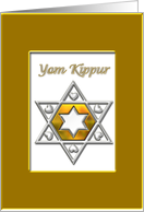 Yom Kippur Gold card