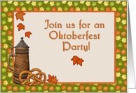 Oktoberfest Party Invitation card