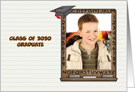 Blackboard, Graduation Photo Card