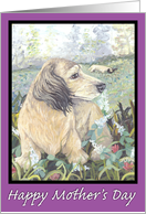 Dachshund #1 Puppy Dreamer Mother's Day card