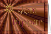 Yom Kippur, Day of Atonement, Star of David card