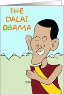 The Dalai Obama card