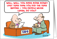irs, never, learn card