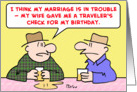 marriage, trouble, birthday card