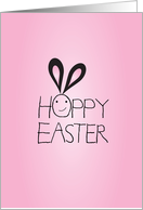 Hoppy Easter, Seester! card