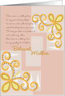 Beloved Mother card