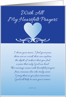 My Heartfelt Prayers card