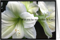 Will you be my Father in Law? card