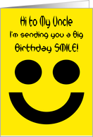 Big smile card