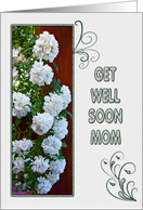 Get well soon card for MOM card