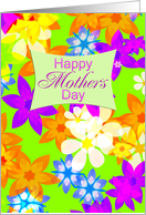 Fabulous flowers Mother's Day card