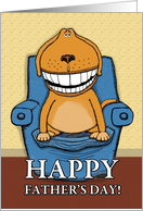 Father's Day - Favorite chair card