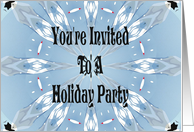 Holiday Party Invite card