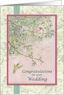 Flirtation: Hummingbirds card