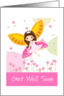 Get Well Soon Card From The Hospital Fairy card