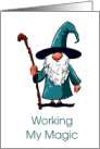 Get Well Wizard/Working My Magic/From Secret Pal card
