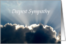 Deepest Sympathy/Family/Friends/Suicide Victim card