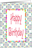 Happy Birthday-Co-worker-Graphic Design card