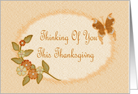 Thanksgiving-Remembrance-Fall Foliage-Butterfly-Digital Design card