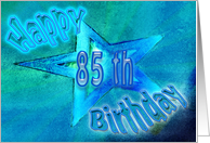 Happy 85th Birthday card
