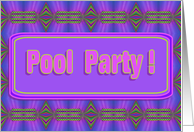 Pool Party ! card