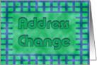 Address Change card