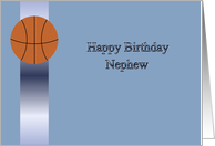 Happy Birthday Basketball Nephew card