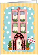 Congrats! New Condo Pink Deco card