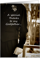 Godfather best man thanks card