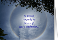 Sympathy, Loss of Grandfather card