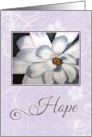 Purple Hope for Cancer card